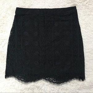 NWT Hollister Co Lace Mini Skirt